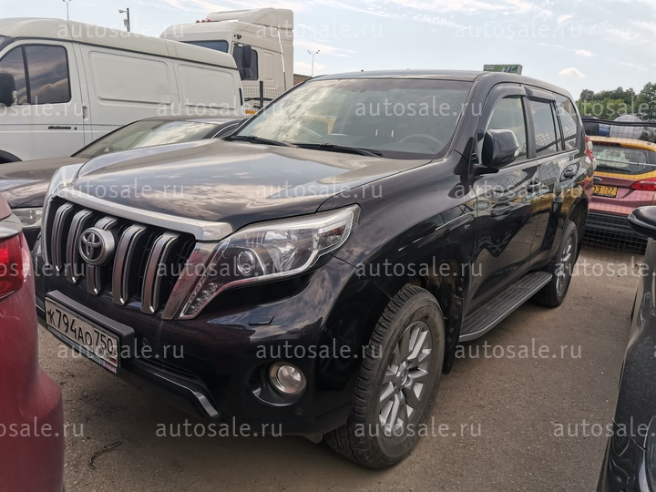 Легковые - Toyota LAND CRUISER PRADO, 2015 Фото 2