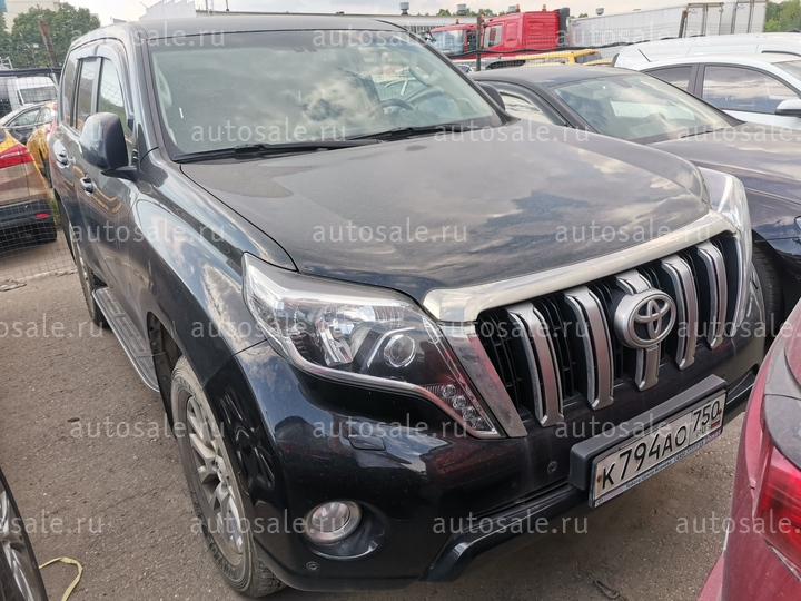 Легковые - Toyota LAND CRUISER PRADO, 2015 Фото 1