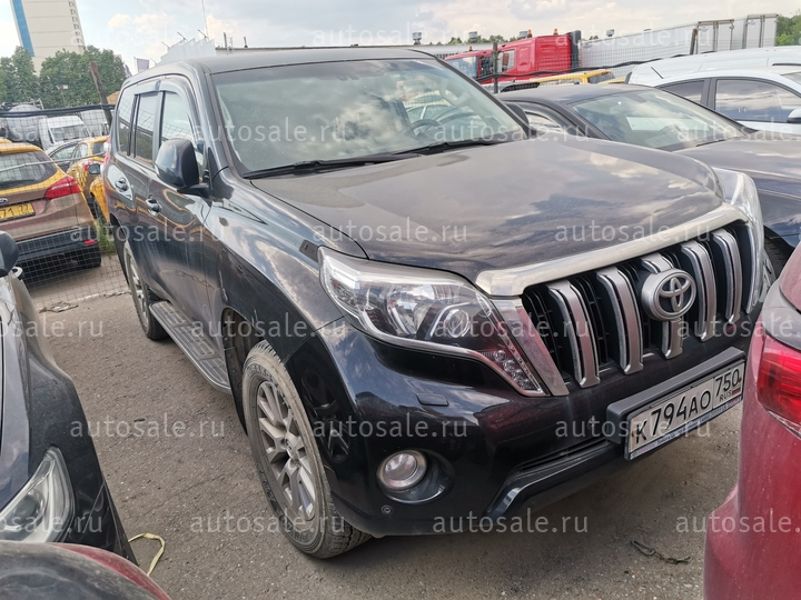 Легковые - Toyota LAND CRUISER PRADO, 2015 Фото 0